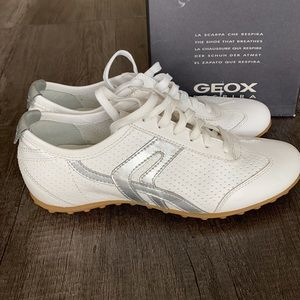 EUC GEOX respira| D CHAT-smooth leather shoes